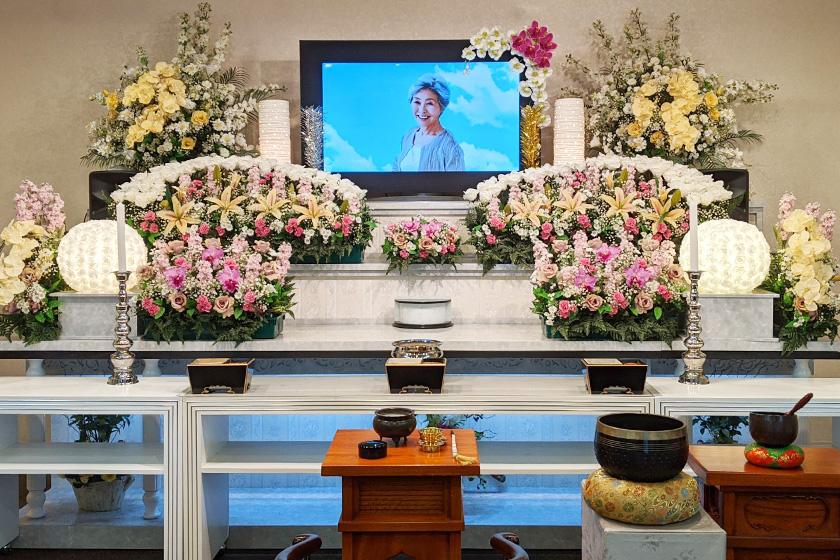 写真:ホール葬プランイメージ