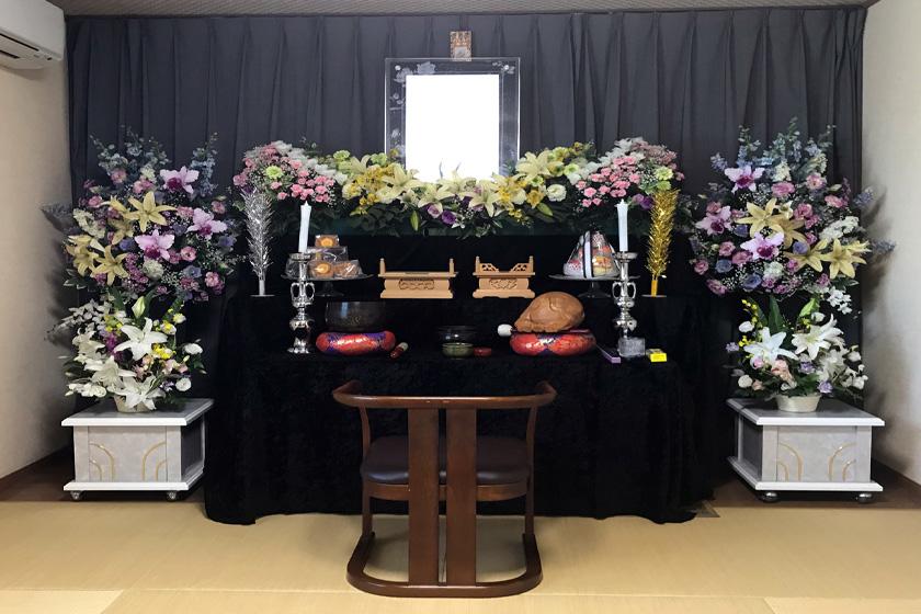 写真:和室葬プランイメージ