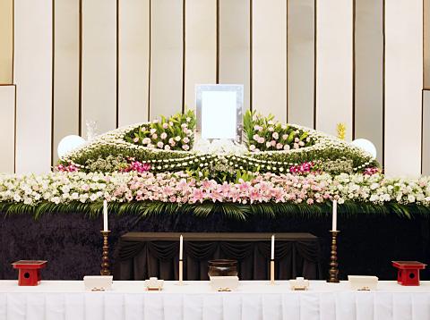 写真:生花祭壇プラン