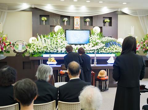 写真:一般葬イメージ